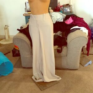 Cream colored dress pants